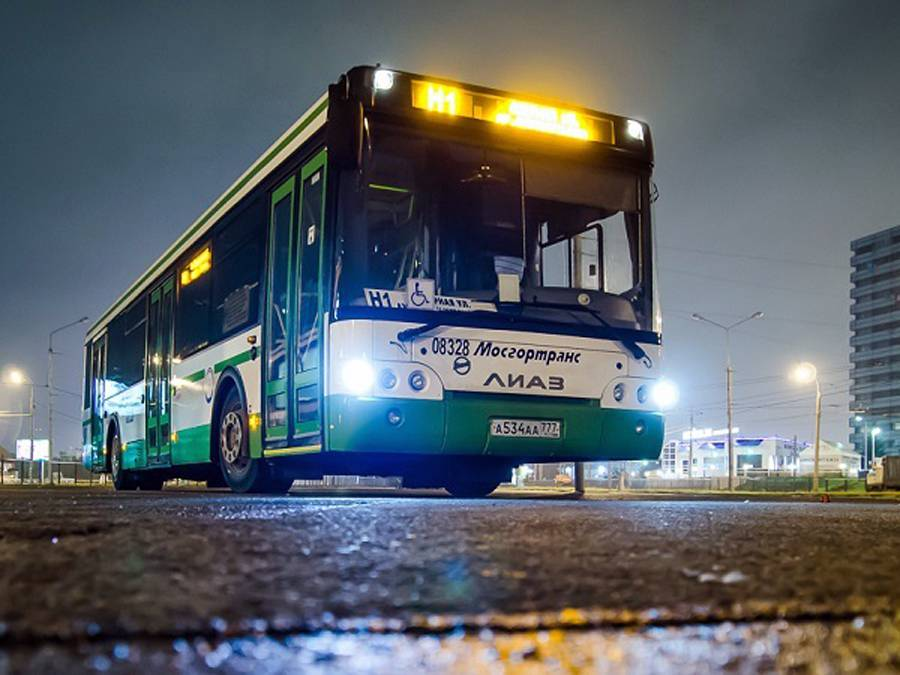 Автобус № Н1